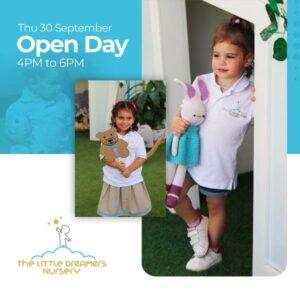 dubai best nursery opening day in jumeirah